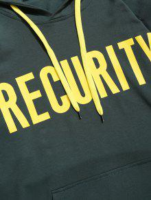 Recurity Xl Graphic Verde Pullover Hoodie Negruzco rrF7q