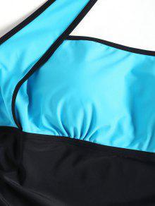 Halter o Color Negro Grande De Ba 4xl Talla Traje Y Azul Block X6BCgnxO