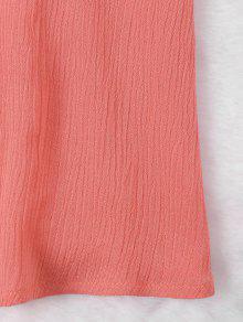 M Sandia Hombro Roja Mini Lazo Vestido Con wq5Ypx4
