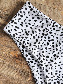 De De 4xl Talla De Leopardo Grande Blanco Bralette Bikini vB6qw