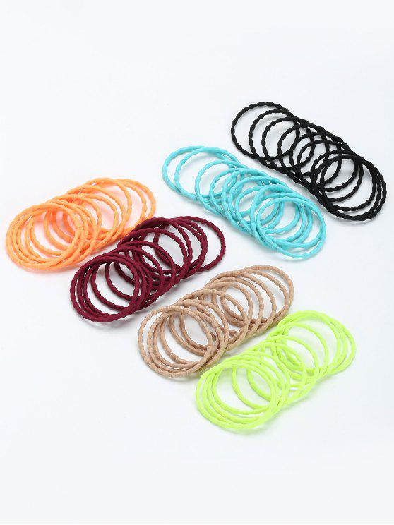 online Curving Bouncy Hair Band Group Set - COLORMIX