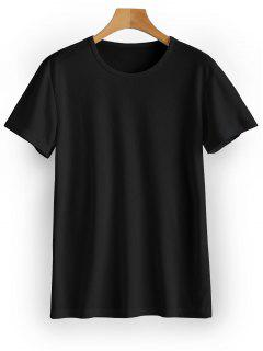 Waterproof Eyelet Sport T Shirt - Black M