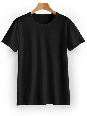 Waterproof Eyelet Sport T Shirt - Black M