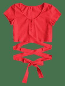 Bot 243;n Arriba Criss Rojo Tie Para Arriba Para Cross M wwqrg7xd