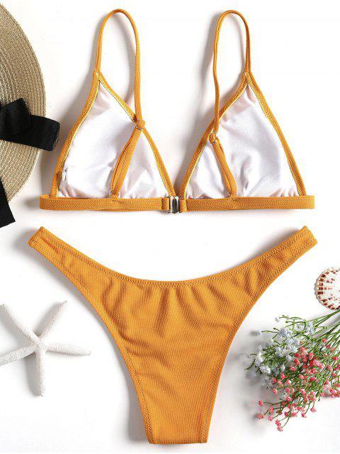 Conjuntos de bikini acolchado con textura - Jengibre S Mobile