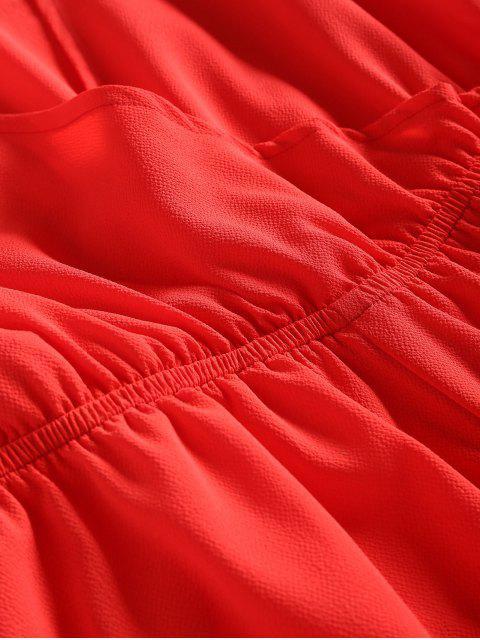 Abulón cuello mameluco llano - Rojo L Mobile