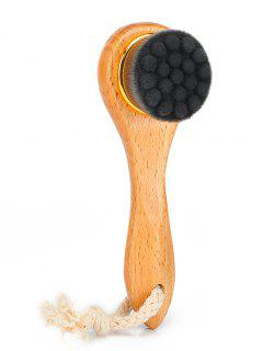 Face Skin Care Facial Cleansing Brush - Black