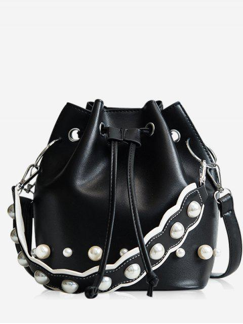trendy String Casual Bucket Bag -   Mobile