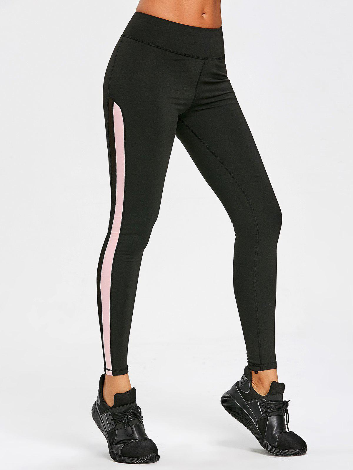 Mesh Insert Sports Leggings 257740604