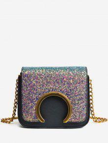 حقيبة كروس صغيرة مزينة بشعار الماركة