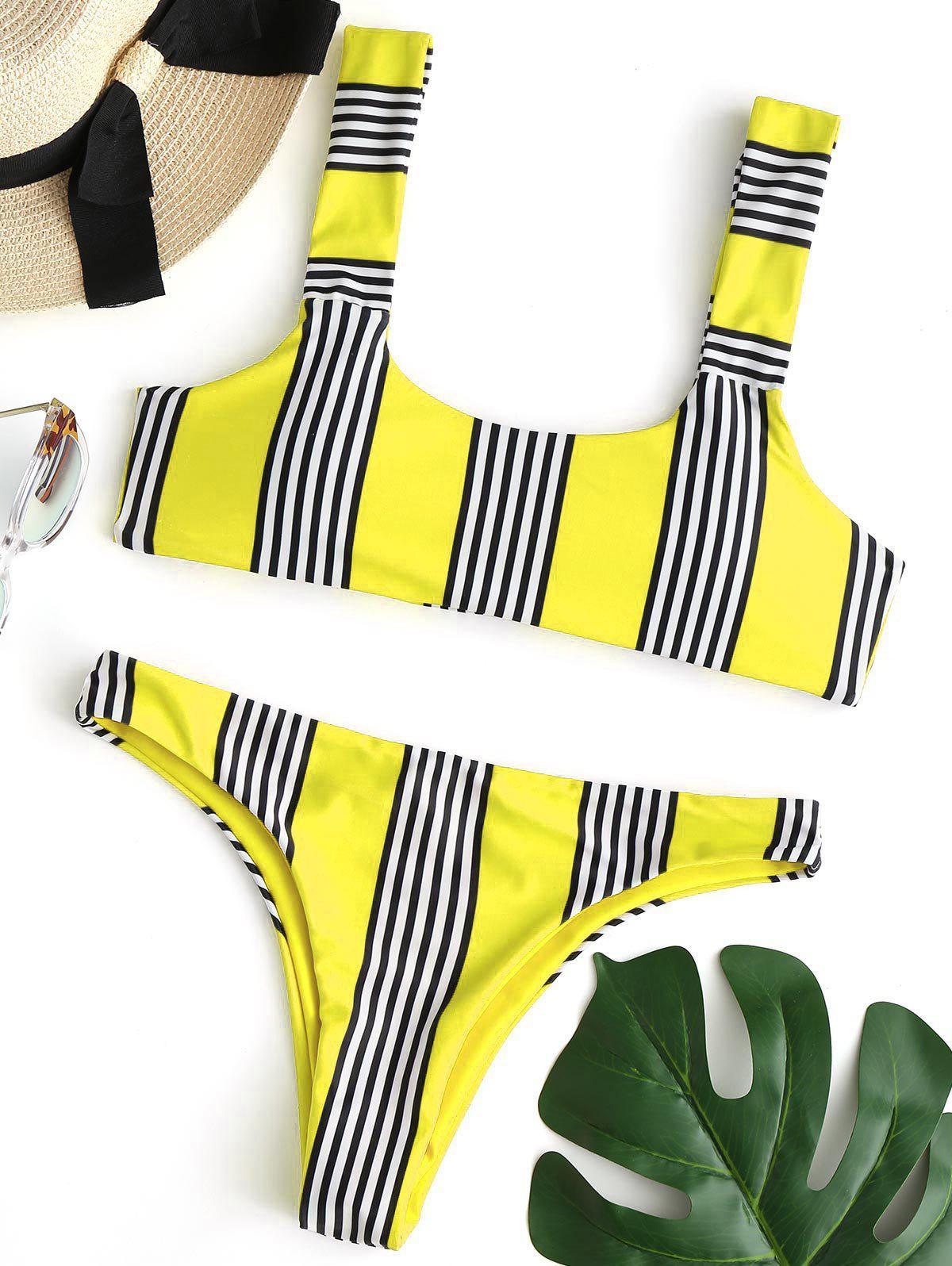 Striped Padded Bikini
