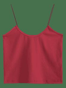 Top Cami M Crop Tank Burdeos Zxq6zF
