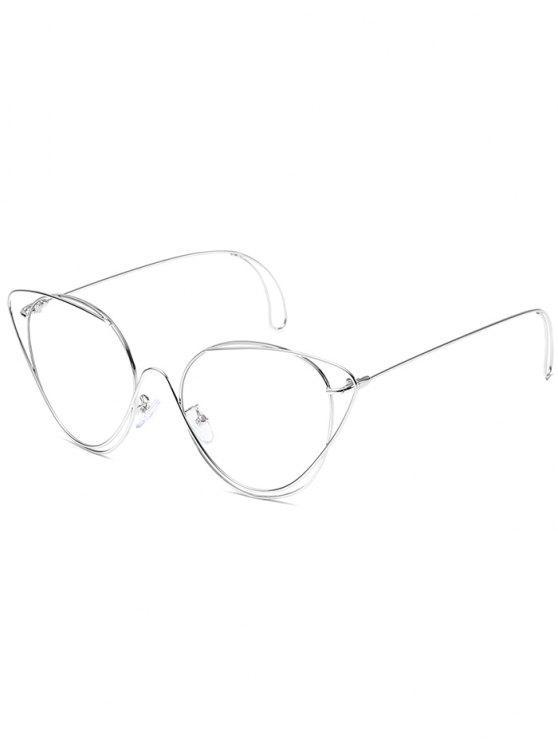نظارات شمسية مضادة للتعب - فضة