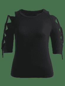 Con Talla Negro Grande Xl Camiseta Corta Manga dxwdSC