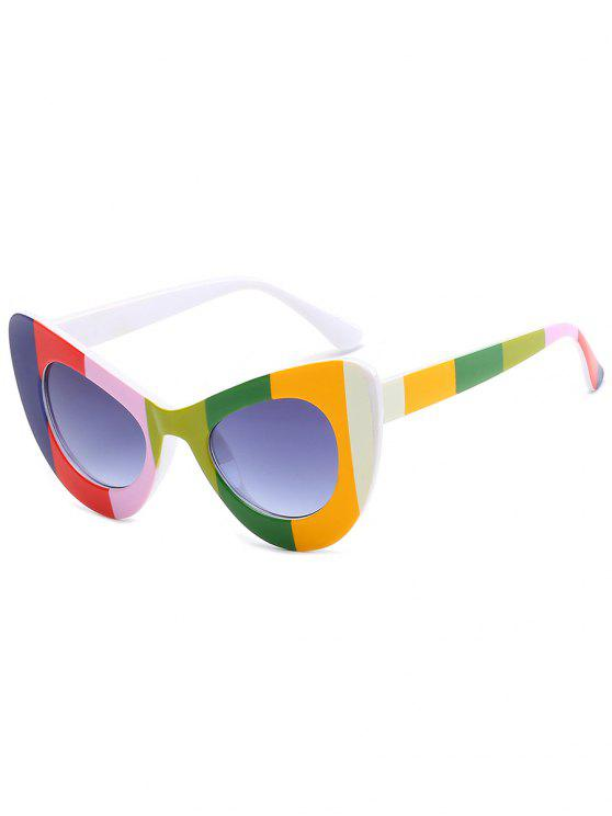 fancy Stylish Full Frame Sun Shades Sunglasses - COLORFUL