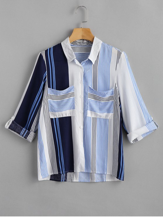 Camisa listrada Pocket - Multi S