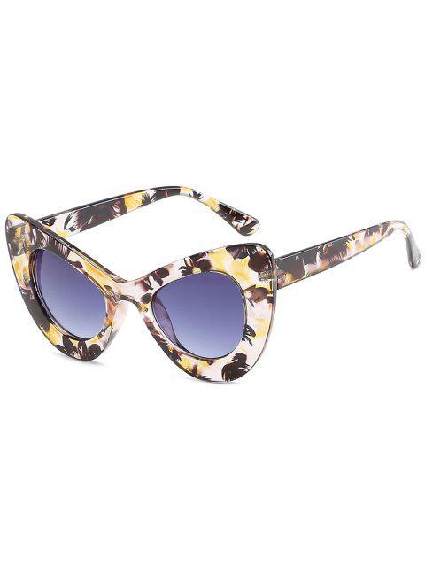 women's Stylish Full Frame Sun Shades Sunglasses - CORN YELLOW  Mobile