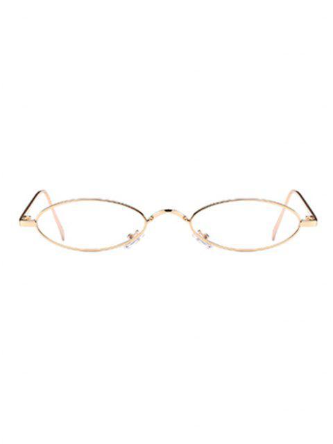 Óculos de Sol Exclusivo com Moldura Metálica - Branco Transparente  Mobile