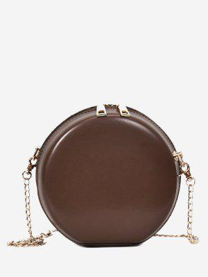 Hard Case Round Shape Mini Crossbody Bag