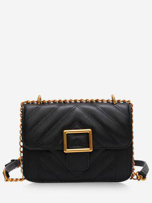 Rhombus Grid Crossbady Bag