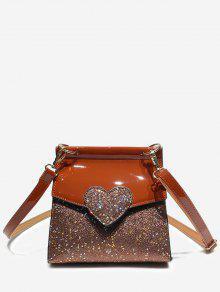حقيبة كروس شيك مزينة بالألوان -