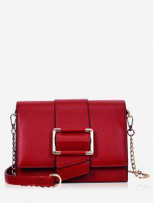 حقيبة كروس كاجوال - أحمر