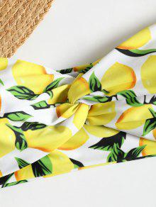 b41814dae1a10 19% OFF   POPULAR  2019 Off Shoulder Lemon Twist High Cut Bikini In ...