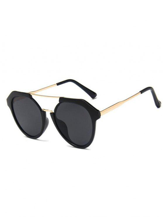 Reise Geometrische Sonnenbrille - Schwarz