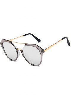 Travel Geometric Sunglasses - Battleship Gray