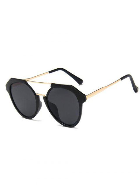 buy Travel Geometric Sunglasses - BLACK  Mobile