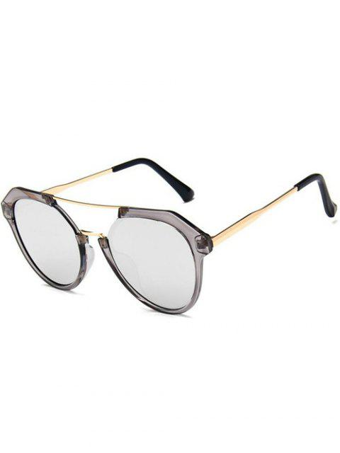 women Travel Geometric Sunglasses - BATTLESHIP GRAY  Mobile