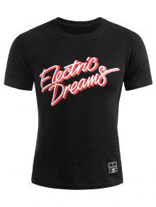 Camiseta M Electric Dreams Negro Camiseta Electric 6d4wq8B4
