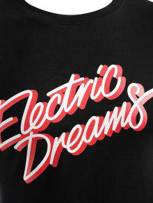 Camiseta Camiseta Electric Dreams Dreams M Electric Negro Negro M fqwxCrfp