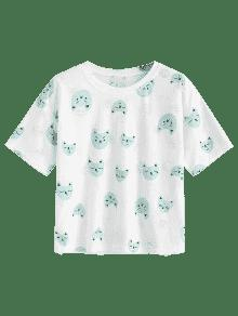 Top Azul Opaco Distressed Puppy Distressed Puppy Azul Puppy Top Distressed Opaco q8nzw4P
