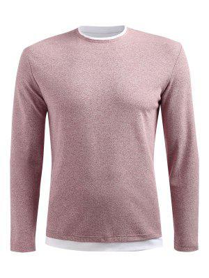 Langarm Drop Schulter T-Shirt