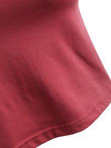 Sin Arco Rosa Mangas S Corta Camiseta Yapw6q54