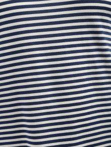 De Corta Oscuro 3xl Manga Pizarra Rayas A Camiseta Azul De 7qBRq