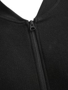 Negro Zip Up Jacket M Zip Up zgIgw0Sq
