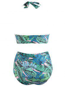 Cintura Bikini Y Grandes Talle 3x Verde Tallas Braguitas Alto Con De Alta De xTq5w1SY
