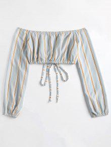 Azul Hombros Corto Jeans Con Descubiertos Con Top Descubiertos De Y S Hombros BxAW8wg