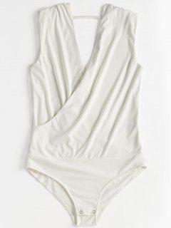 Body Sans Manches  - Blanc M