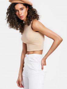ee22cd84eebe3 23% OFF  2019 Stretchy Shiny Tank Top In BLANCHED ALMOND
