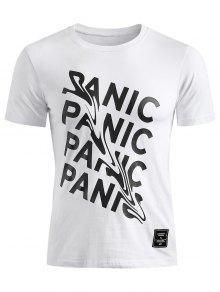 M P Manga Camiseta Blanco 225;nico Corta BXxqz1