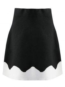 تنورة توهج محيوك - أسود L