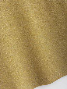 Sol S Top Con Brillante De Corte Amarillo 41qRfa