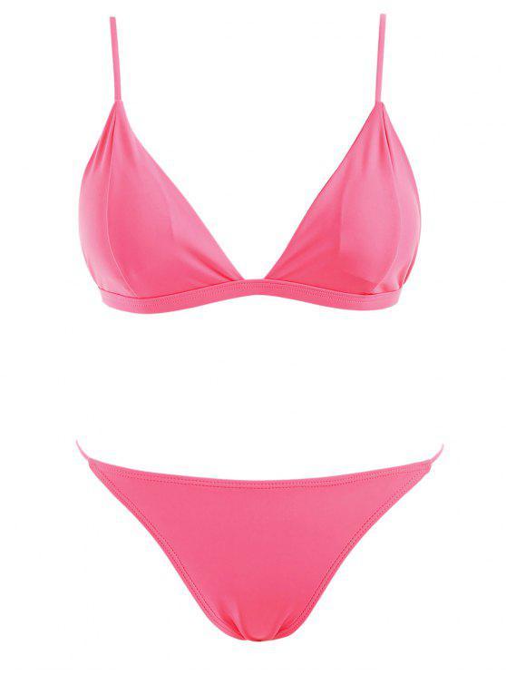 Ensemble de bikini rembourré - Rose Pastèque S