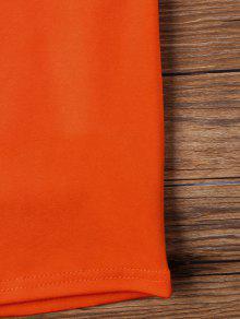 Vestido Oscuro Bajo Espalda Tirantes Corte Naranja Sin De Sin M qwar4q