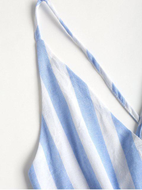 Borlas de rayas roms cross mameluco - Azul Claro S Mobile
