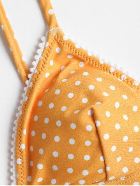 Conjunto de bikini con lunares - Amarilla de Abeja  S Mobile