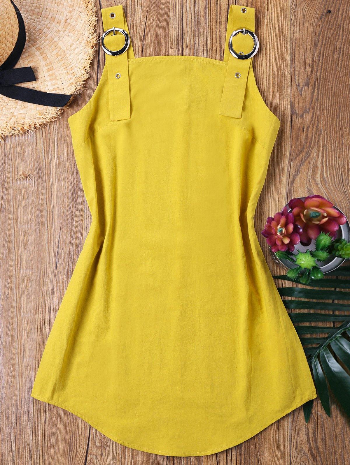 Ring Strap Mini Dress